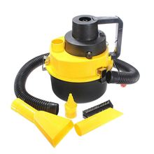 Promotion! Portable 12V Wet & Dry Car Vacuum Cleaner Vehicle Auto Home Mini Handheld 90W(China)