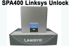 Fast Shipping! Unlocked LINKSYS SPA400 4 FXO Gateway Phone Adapter Internet Telephony