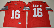 Nike 2015 Ohio State Buckeyes J.T. Barrett 16 Diamond Quest College Football Jersey - Red Size S,M,L,XL,2XL,3XL