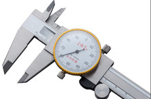 Table caliper 150mm/0.01mm Dial Caliper Stainless steel Vernier Caliper Gauge Micrometer Measuring tools(China)