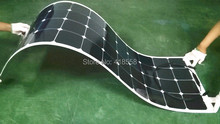 semi-flexible solar panel 140w MONO crystalline flexible solar cell 140w with 23% charging efficiency 30 degree foldable(China)