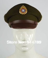 WW2 CHINESE NATIONALIST FORCES KMT KUIMINGTANG ARMY SERVICE CAP SIZE M-32638(China)