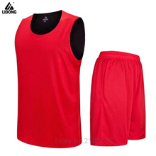 men reversible basketball jersey 12 colors available comfortable soft materials sporting sets sleeveless basketball uniforms