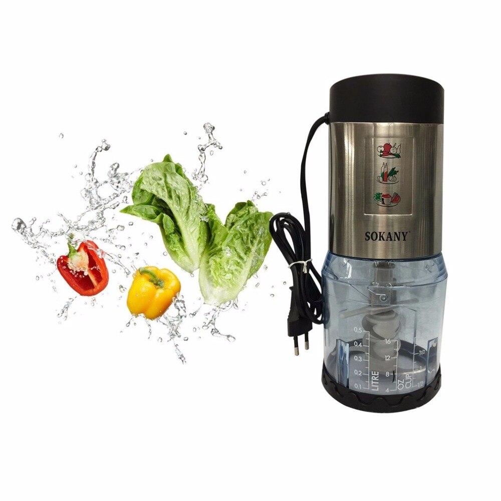 Multifunctional Electric Mixer Meat Grinder Mincing Machine Fruit Juicer Household Blender Smoothie Milkshake Maker EU Plug <br>