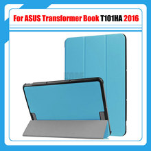 Ultra Folio Cover Pu Leather Case Cover for ASUS Transformer Book T101HA 10.1'' Tablet PC + Stylus