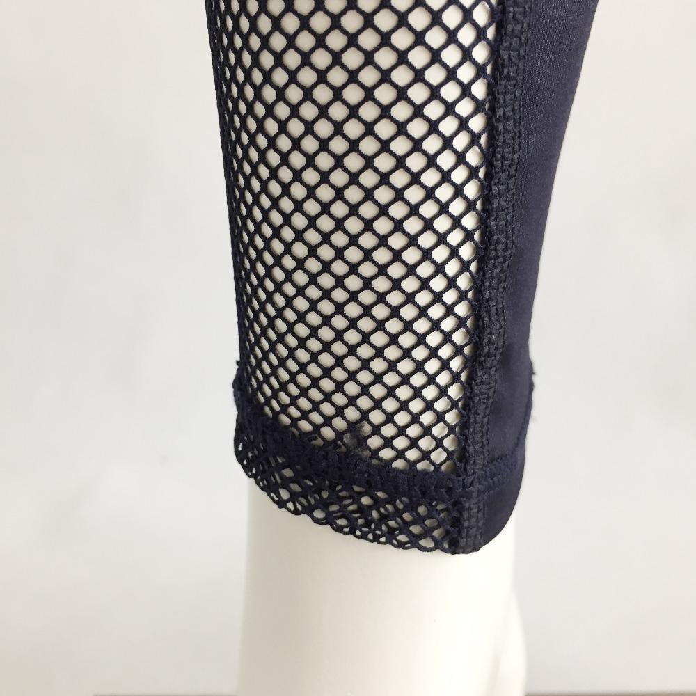New Women Push-up Sporting Leggings Black Fashion Net Hollow Elastic Skinny Fitness Leggings Sporting Clothing For Women 28