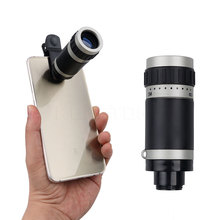 Hot sale 8x18 Times Multi-function Pocket High-Definition Light Night Vision Wide-angle Monocular Mobile Phone Camera Telescope