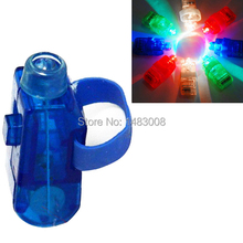 High Quality 8 Color LED Laser Finger Ring Lights Beam Torch Party  High Quality