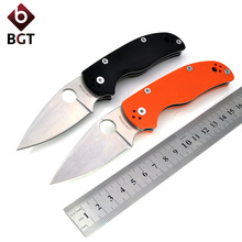 BGT C41 G10 Hunting Pocket Knife Folding Rescue Knife D2 Blade Utility Tactical Camping Tools Outdoor Combat Survival EDC Knives