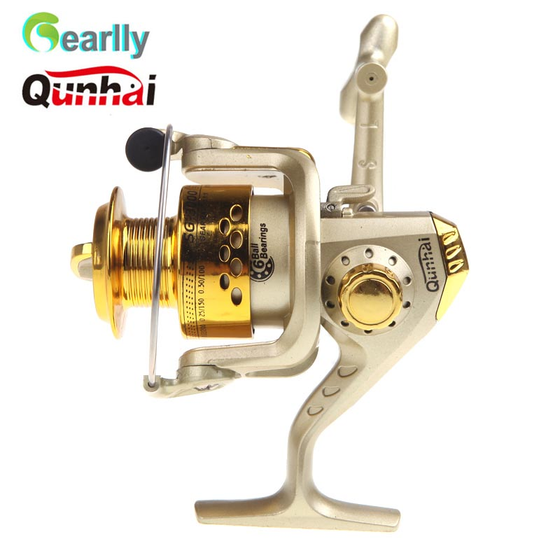 Right High Speed Spining Fishing Reel Gear Ratio 5.1:1 3 Ball Bearing Left