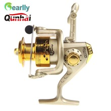 QUNHAI Spinning Fishing Reels 6BB Ball Bearings Tackle Gear De Pesca 5.1:1 200g SG3000 Left/Right Carp Reel Fly Wheel Lure Bait