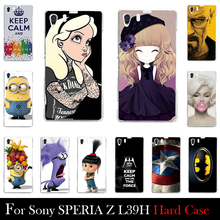 For Sony Xperia Z1 L39H C6902 C6903 C6906 Protective Mobile Case Accesary For Cellular Phone Breaking Bad Marilyn Monroe