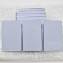 50pcs/lot  T5577 Writable Reusable White Copy Cards For ID EM4100 Tk4100 RFID 125 Khz PVC Material Waterproof