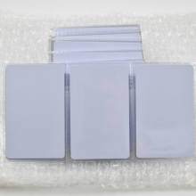 50pcs/lot T5577 Writable Reusable White Copy Cards For ID EM4100 Tk4100 RFID 125 Khz PVC Material Waterproof(China)