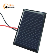 Boguang 5.5v 0.3w mini solar panel Polysilicon cell module Epoxy resin for SOLAR DIY kit toys car LED light motor pump battery(China)