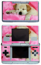 Lovely Dog 237 Vinyl Skin Sticker Protector for Nintendo DS NDS Original (fat) skins Stickers(China)