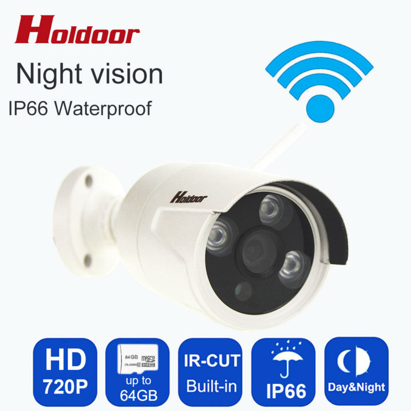 720P HD IP Camera WIFI Onvif 2.0.4 P2P for Smartphone IP66 Waterproof 20m IR Outdoor Home Security Cam With Micro Sd Card Slot<br><br>Aliexpress