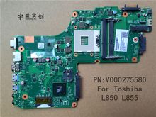 New for Toshiba Satellite L855 L850 Motherboard V000275580 6050A2541801 Full Tested Warranty:90 Days