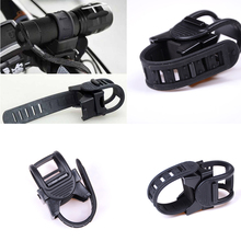 7 * 5 * 4cm LED Flashlight Torch 360 Degree Bicycle Bike Cycling Mount Clip Clamp flashlight holder Flashlight fixed Bracket(China)