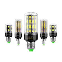 1 X Newest No Flicker 5736SMD 3W 5W 7W 8W 12W 15W LED Spot light E27 E14 AC 85-265V LED Corn Bulb lamp 28 40 72 108 132 156 LEDs
