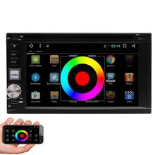 6.2 inch 2 Din Android Car Dvd Player Audio Stereo For Universal Gps Navigation Steering-Wheel 2Din Radio Recorder Wifi GPS Map