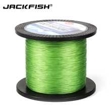 JACKFISH 500M 8 strand Smoother PE Braided Fishing Line 10-80LB Multifilament Fishing Line Carp Fishing Saltwater with gift(China)