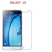 3 PCS HD phone film PE touch preserving eyesight for Samsung GALAXY J3 2016 J3109 pro screen protector +Wipe wipes(China)