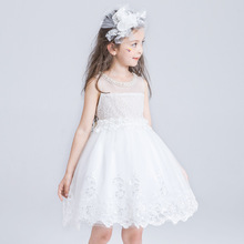 Flower girl princess dress for wedding party summer for size 2 3 4 5 6 7 8 9 10 11 12 13 14 years child piano costume tutu dress