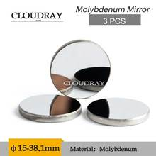 Cloudray 3 PCS Mirror Laser Mo Diameter 19.05 20 25 30 38.1mm Thk 3mm 5mm Co2 Laser Machine Reflector