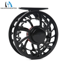 Maximumcatch Fly Fishing Reel Exclusive Super Light 7/8WT CNC Machine Cut Large Arbor Aluminum Fly reel