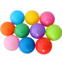 8cm Ocean Beach Ball Pits 50pcs/lot Eco-Friendly Colorful Soft Plastic Water Pool Ocean Wave Ball Baby Funny Play Toys