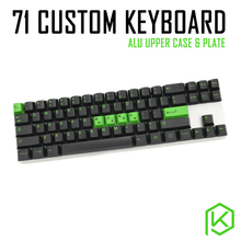 Custom Mechanical Keyboard Kit 71 keys kinds of led effects PCB 70% keycool Gaming Keyboard LED Backlight Available(China)