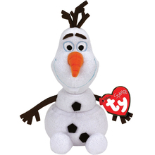 "Pyoopeo Original Ty Beanie Babies 10"" 25cm Olaf the Snowman Plush Medium Stuffed Animal Collectible Toy(China)"