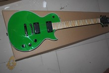 Free shipping ltd guitar top quality EMG Pickup esp Deluxe green guitar Custom 22 Electric Guitar China guitar factory 1411