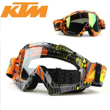 Kawasaki Motocross MX Goggles Cycling Outdoor Off Road Glasses  KTM Motorcross Motorbike goggles For Motorcycle Helmet glasses
