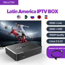 MAG250 Iptv Set Top Box Linux Latin American IPTV Box 3500+ Live Italy UK DE Spain Portugal Turkish Netherlands Channels MAG250