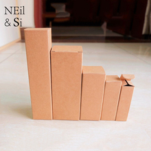 Gift Perfume Bottle Box Party Favor Chocolate Essential Oil Packaging Kraft Paper Boxes Free Shipping(China)