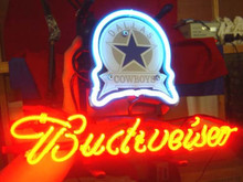 "Business NEON SIGNS Board For DALLAS COWBOYS Football Basketball Sports Real GLASS Tube BEER BAR PUB Club Shop Light 17*14""(China)"