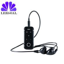 Leegoal Bluetooth Receiver With Earphone Microphone Stream Bot Hands-Free Wireless Stereo Headset For Cell Phone/Home/Car(China)