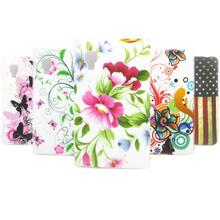 for lg e440 Butterfly flower UK FLAG US FLAG TPU Gel Silicone Back Case Cover for lg optimus l4 ii e440 phone cases