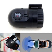 Black Mini Car Dashcam Camera DVR HD 720P Vehicle Video Recorder Wide Angle Lens Free shipping