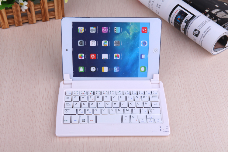 Jivan  Original Keyboard with Bluetooth for 8 pipo w2f Tablet PC pipo w2f keyboard<br>