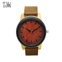 TJW 2017    The new wooden watches Foreign trade hot style fashion wooden Many vintage ebony wholesale watches manufacturer