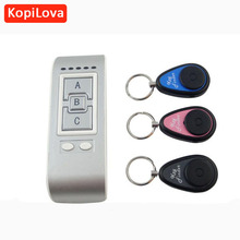 KopiLova Wireless Electronic Key Finder Key Reminder With 3 Key Chain Receivers For Lost Keys Locator Key Finder