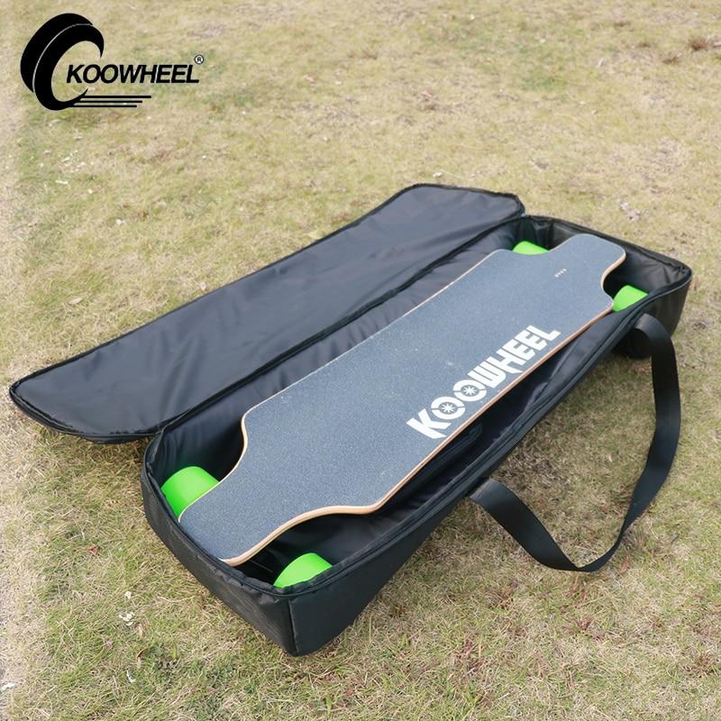 Koowheel Модернизированный 2 концентратор Двигатели Электрический скейтборд 5500 мАч Samsung 4 колеса, Электрический скутер electricon Электрический longboard