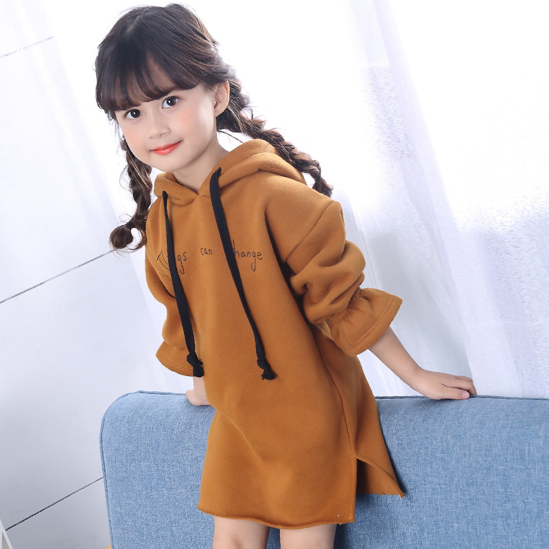 فستان طويل الاكمام للاطفال 10