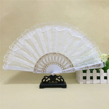 Spain Leques Ladies Folding Lace Hand Fans,Wholesale Personalized Fan Of Old Wedding Decoration Abanicos Para Boda Vintage 11