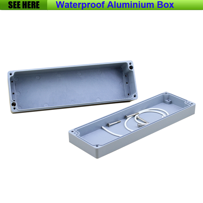 Free Shipping  1piece /lot Top Quality 100% Aluminium Material Waterproof IP67 Standard aluminium case box casting 250*80*64mm<br>