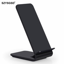 Buy SZYSGSD Wireless Charger iPhone X 8 Plus Samsung Galaxy s8 s9 s9+ S7 Edge Fast Qi Wireless Charger Charging Pad Station for $19.40 in AliExpress store