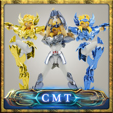 CMT In stock Cygnus HYOGA final Cloth EX metal armor GREAT TOYS GT EX Bronze Saint Seiya Myth Cloth Action Figure(China)